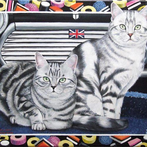 'British Delight', olieverf, 50x70 cm